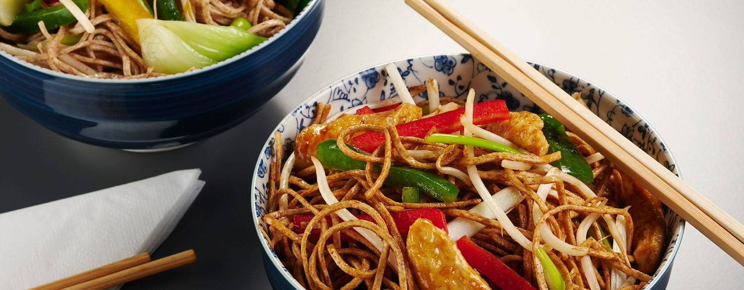 Chicken & Wholewheat Noodle Stir Fry